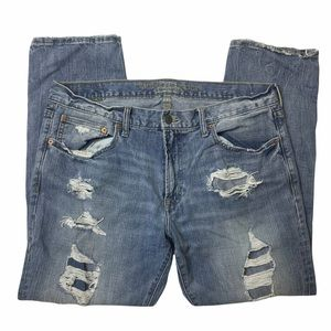 American eagle men's distressed jeans 36x30